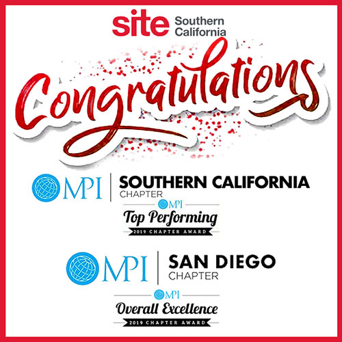 Congratulations MPI Southern California & MPI San Diego chapters