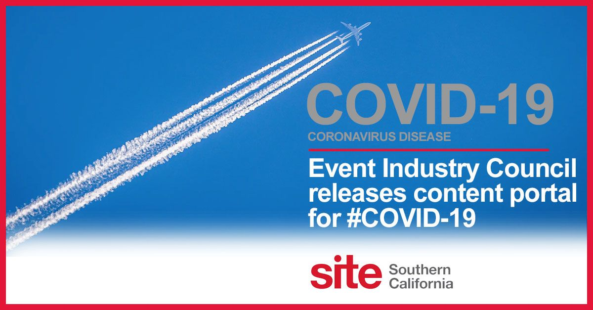 Event Industry Council Releases #COVID-19 Content Portal